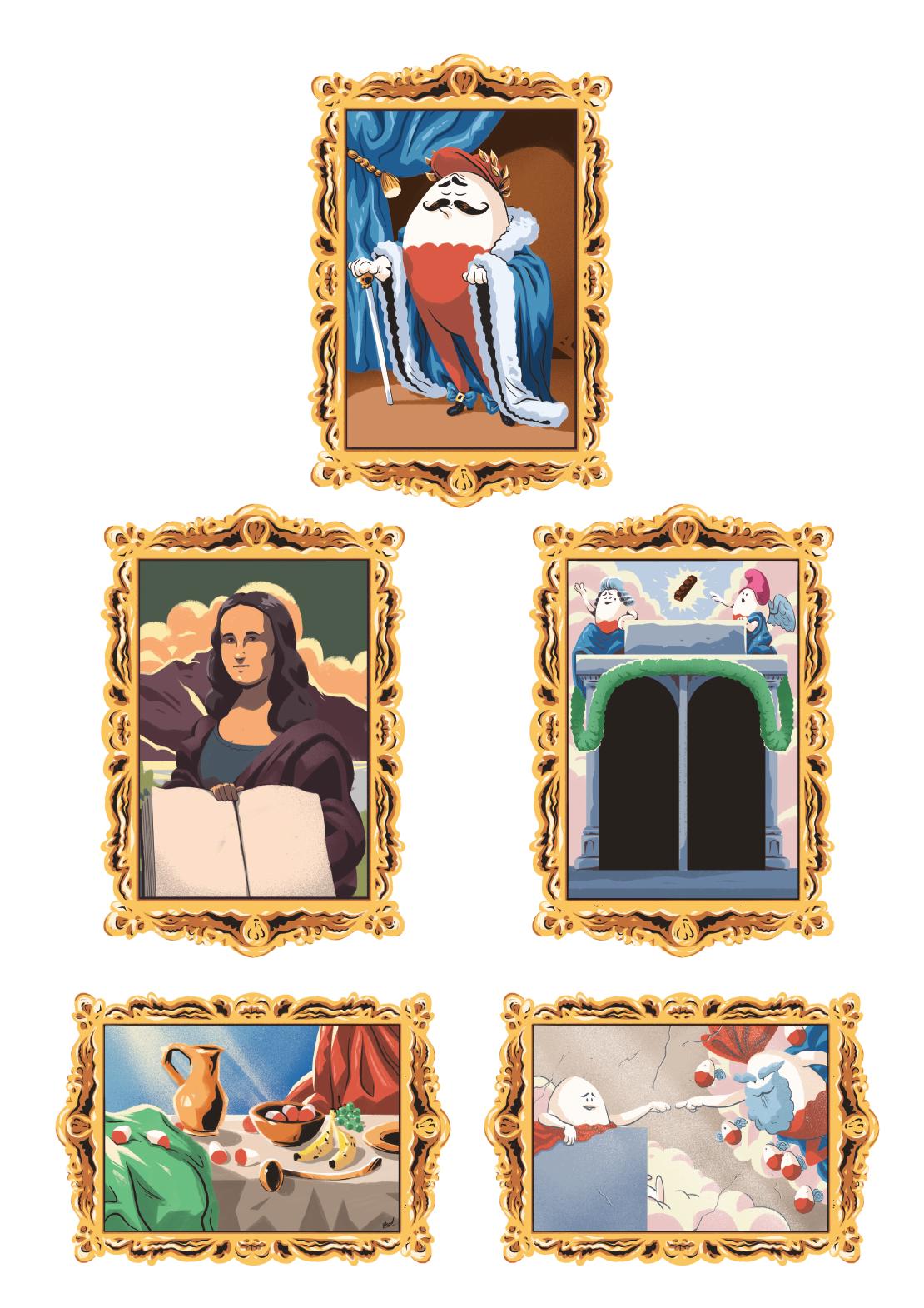 Les tableaux du musée