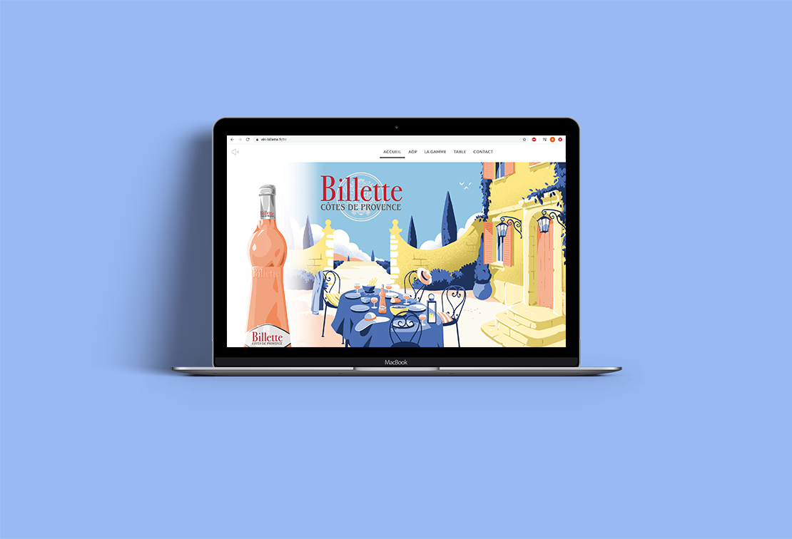 BILLETTE- rendu web